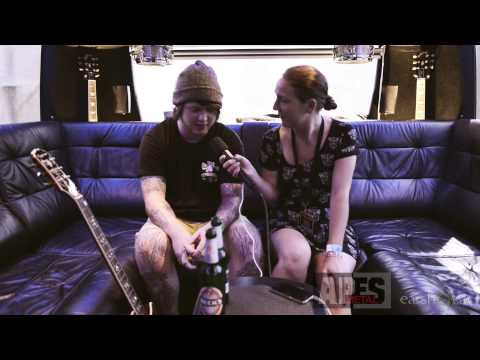 Interview with Lee from Bring Me The Horizon at W:O:A 2014