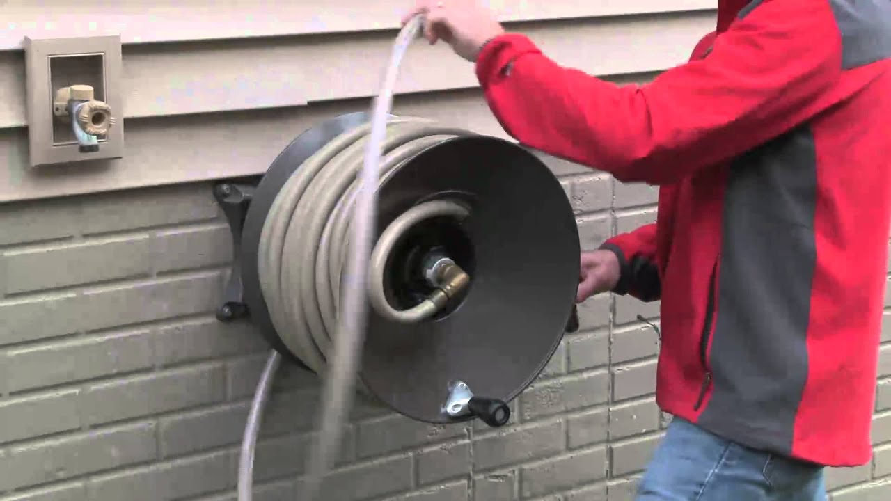 Well-liked How to Winterize Your Garden Hose Reel - YouTube IV21