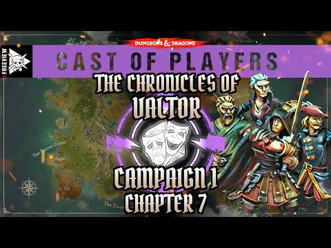 Dungeons & Dragons Cast of Players: Chapter 7 - Smoke over Rading