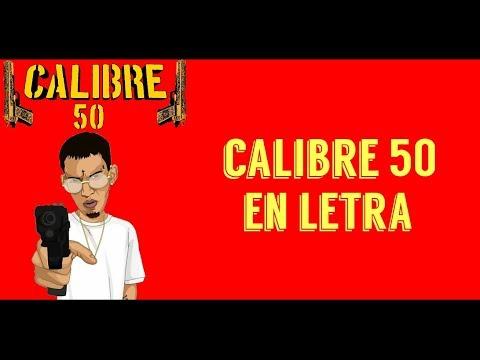 Ele A El Dominio - calibre 50 en letra🔥