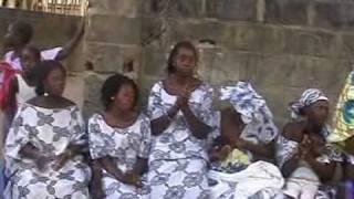 Mandinka drumming and singing - GAMBIA
