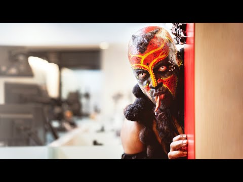 Boogeyman scares WWE employees for Halloween