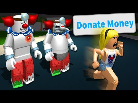 Bloxburg CLOWNS Scared People Into Giving Them MONEY