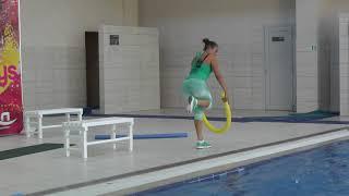 Аквааэробика, Смаль aero noodl, aqua fitness