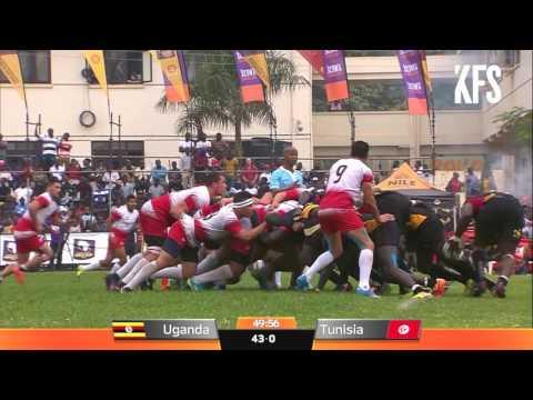 Rugby Africa Gold Cup : UGANDA v TUNISIA