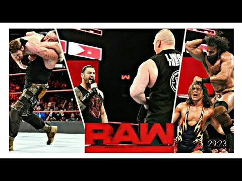 WWE THE Raw Matche 24-04-2018 Highlights HD - WWE Monday Night Raw 24 April 2018 Highlights HD