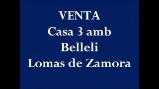 VENTA casa 3 amb Lomas de Zamora