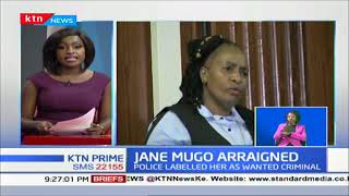Private detective Jane Mugo arraigned in court