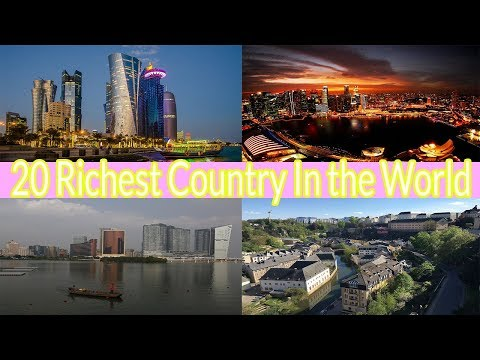 20 Richest Country in the world | GDP per capita | BengaliLOGIC