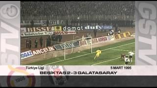 Nostalji Maçlar | Beşiktaş 2 - 3 Galatasaray ( 05.03.1995 )