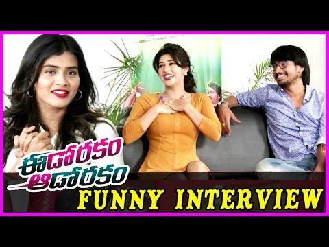 Hebah Patel , Sonarika & Raj Tarun Funny Interview - Eedo Rakam Aado Rakam Movie