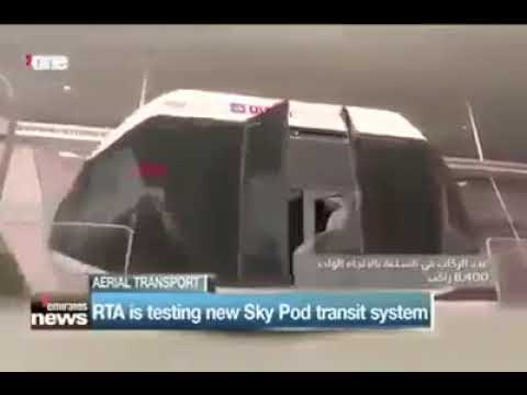 Skypods by Skyway Technologies Dubai TV Telecast