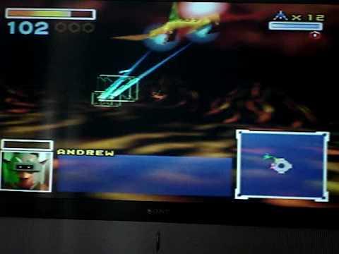 Star Fox 64: Venom ( Star Wolf Battle)