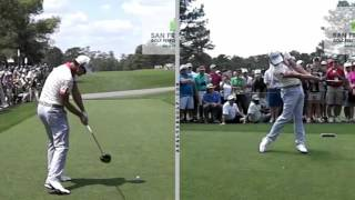 Adam Scott - Slow motion golf analysis