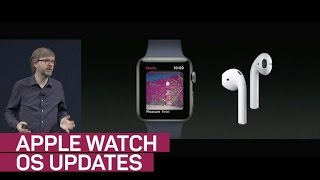 Apple updates its WatchOS with new Siri face (CNET News)