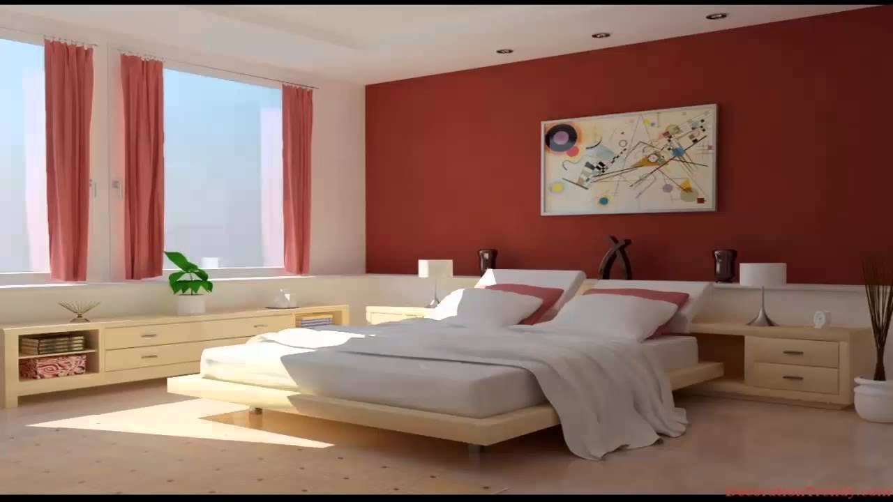 غرف نوم باللون الأحمر والأبيض       YouTube