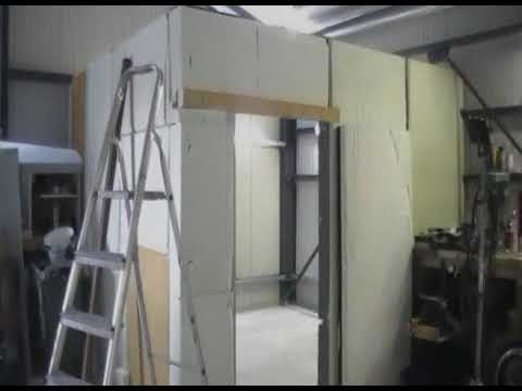 cabine peinture fait maison youtube. Black Bedroom Furniture Sets. Home Design Ideas