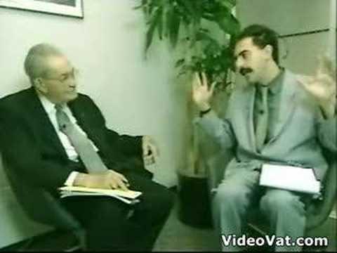 Borat's past job experiences, VERY FUNNY
