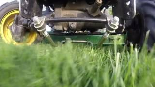 John Deere X748 w/ 7-Iron Deck Mowing