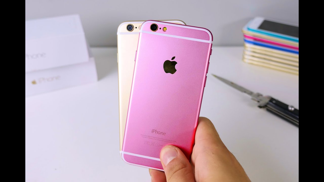 the latest 53de7 1ab42 iPhone 6S Clone Unboxing - Rose Gold Color