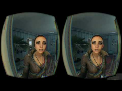 Dying Light in SBS 3D - Google Cardboard - Oculus Rift Pt.1