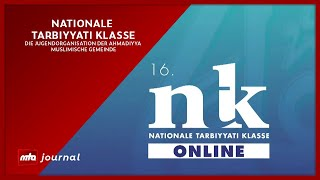 MTA Journal - Nationale Tarbiyyati Klasse | Sendung vom 11.01.2021
