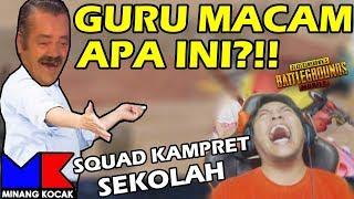 MINANG KOCAK JADI GURU, TENCENT BERCANDA? - PUBG MOBILE INDONESIA #35