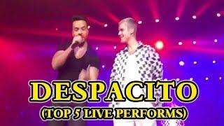Download Video TOP 5 - Despacito Luis Fonsi, Daddy Yankee & Justin Bieber (Live Performs) MP3 3GP MP4