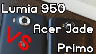 Microsoft Lumia 950 VS Acer Jade Primo - La comparativa en español