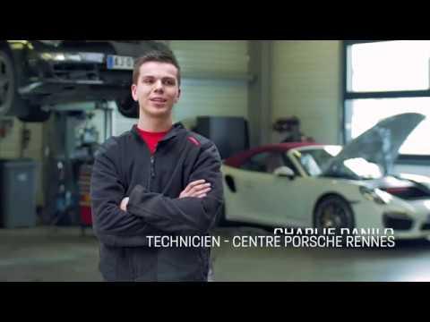 Interview // Charlie Danilo (Technicien au Centre Porsche Rennes)