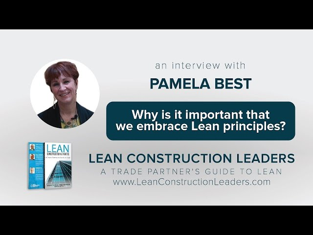 Why is it important that we embrace Lean principles?