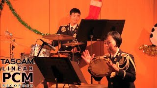 "#jazz ""One Note Samba"" - Japanese Army Band"