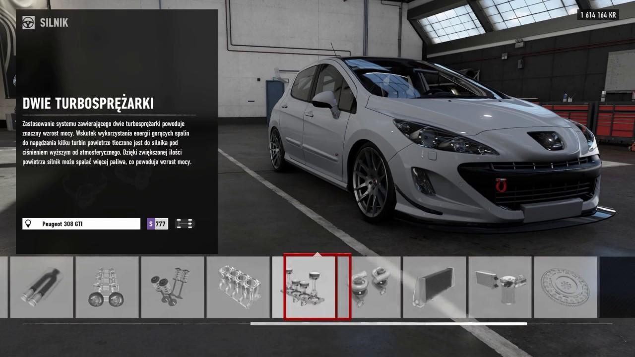 forza motorsport 7 tuning 2011 peugeot 308 gti top speed. Black Bedroom Furniture Sets. Home Design Ideas