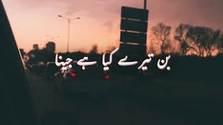 Bin Tere Kya Hai Jeena - Jawad Ahmad - Aesthetics اردو