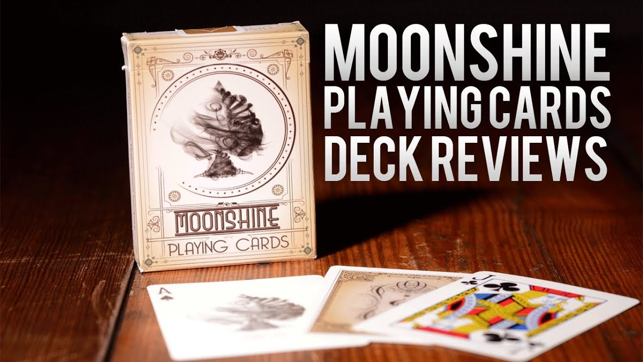 Deck Review The Moonshine Playing Cards Youtube