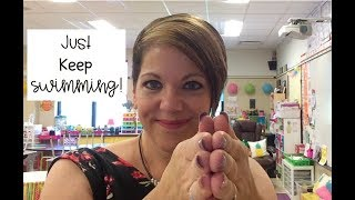 Teacher Vlog #12 | My Second Grade Journey | Just Keep Swimming