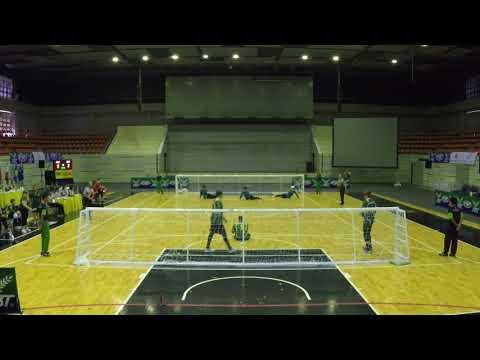 2017 Men's Goalball Asia Pacific Championships Australia v China