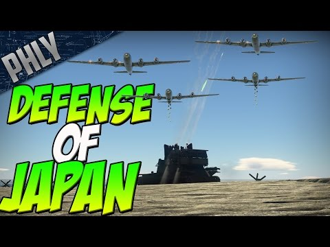 DEFENSE OF JAPAN (War Thunder Gameplay)