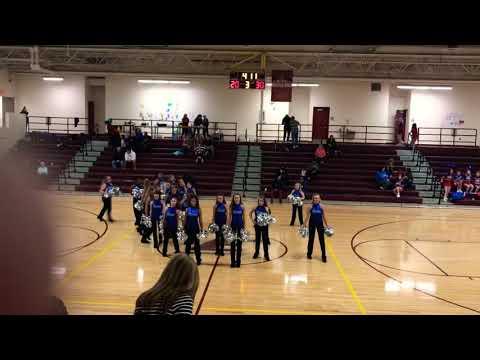 Bondurant Middle School Dance Team