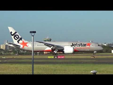 Hot day out at Sydney Airport 6 1 2018
