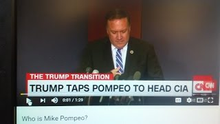 CIA Mike Pompeo Waterboarding