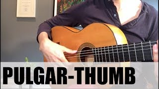 How To Use The Thumb in Flamenco Guitar (EASY!) | Flamenco Guitar Technique