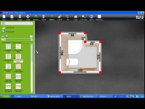 Diseña tu baño gratis con Dibanet de Roca - YouTube