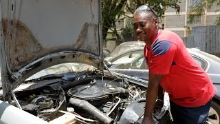 Respect The Hustle: Meet the blind mechanic who defies all odds