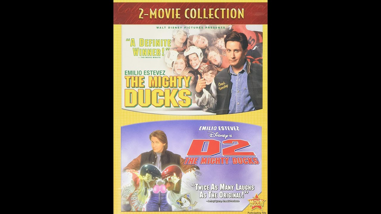 Download Opening to The Mighty Ducks and D2: The Mighty Ducks 2-Movie Collection DVD (2008, Both Discs)