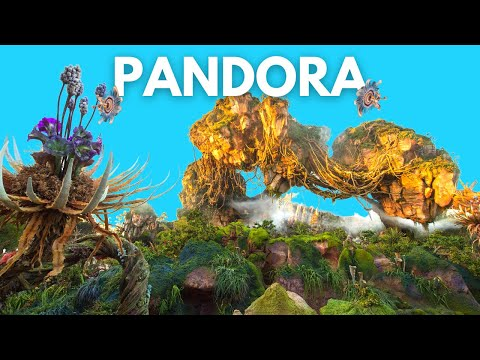 Pandora World of Avatar (Walking Tour at Animal Kingdom)