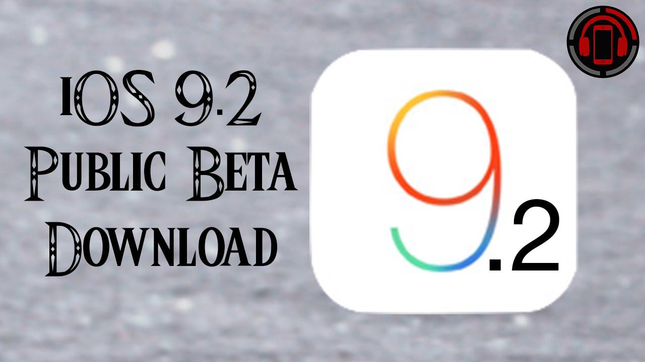 iOS 9.2 Download & Installation [Deutsch/German]