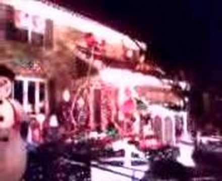 Christmas Lights Roller Coaster Adams Run Louisville KY