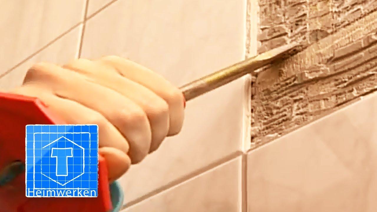 Super Fliesen entfernen: Tipps für wenig Aufwand und Bauschutt - HeimHelden BU79