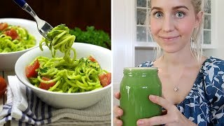 What I Eat + Making Zucchini Pasta with Friends